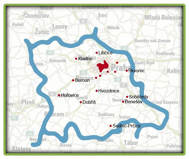 mapa seniorátu